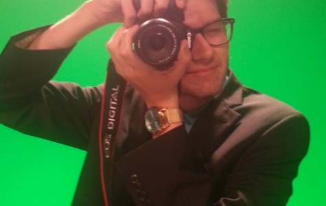 Nick Madison behind the camera doing what he loves most at MediaNowSTL.