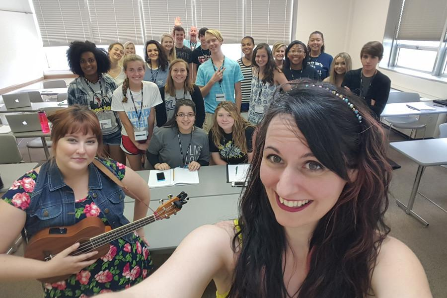 Letter to Memphis singer speaks to journalism writing class