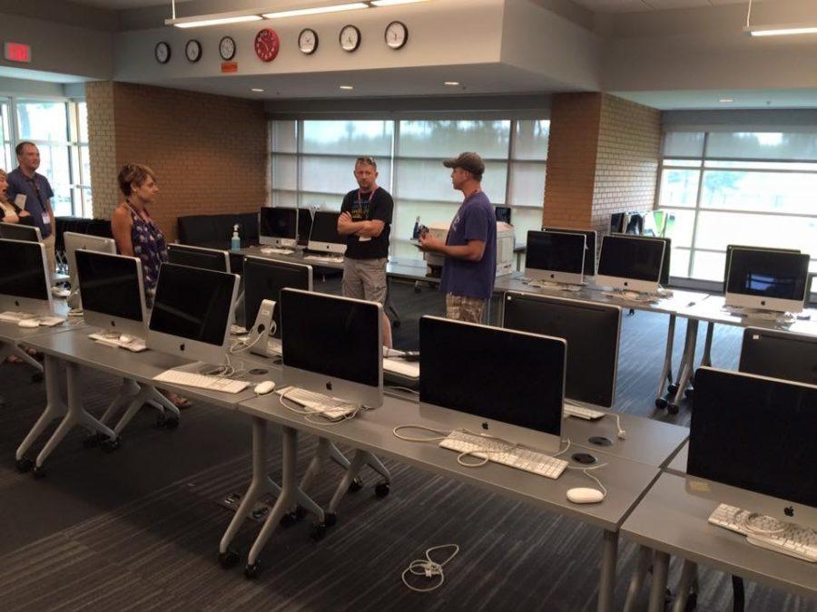Computer Lab after renovation at Kirkwood high school- Photo credit: Jim Streisel